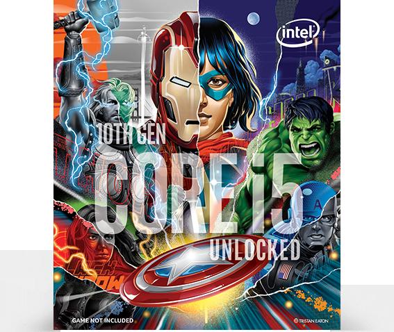 Intel Core i5-10600K Avengers Limited Edition Processor   BX8070110600KA    JW Computers