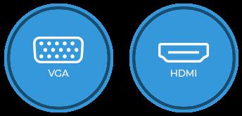 HDMI & DisplayPort Icons