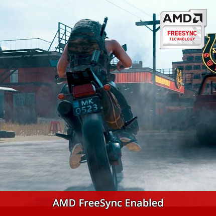Image with AMD FreeSync Enabled